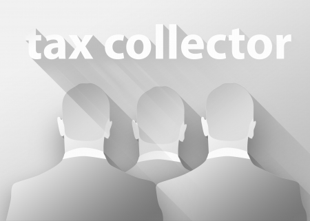 taxman: Tax collector concept Stock Photo