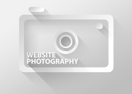 Website photography camera icon photo