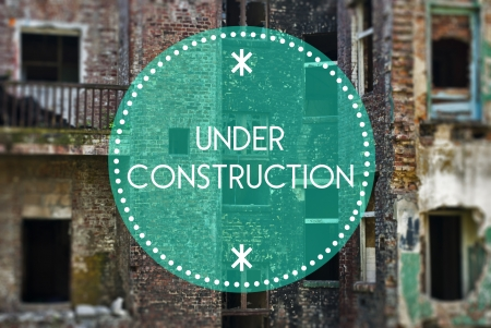 reparations: Under construction new beginning concept