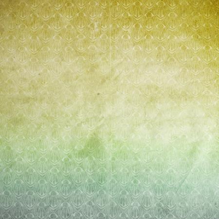 explored: Vintage wallpaper pattern, old paper texture