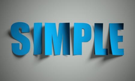 Eenvoudige gesneden uit papier, achtergrond Stockfoto