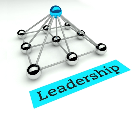 best leadership: Leadership concept, Hierarchy and management with pyramid