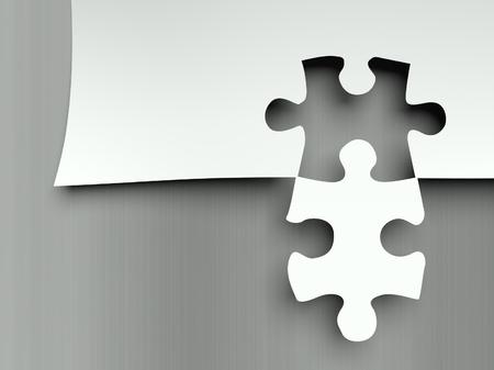 complemento: Piezas de un rompecabezas que empareja, concepto de complemento