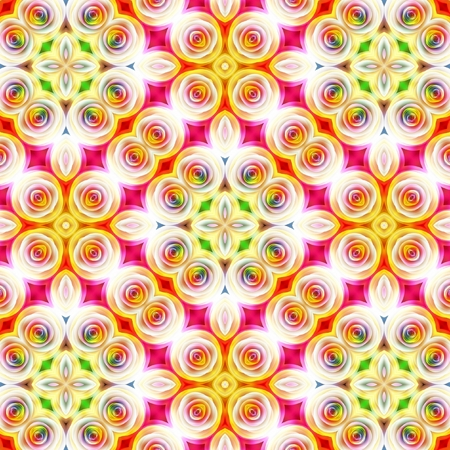 Floral seamless pattern to use as wallpaper, surface texture, web page background photo