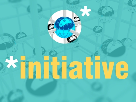 initiative: Initiative concept, unique leader individualist