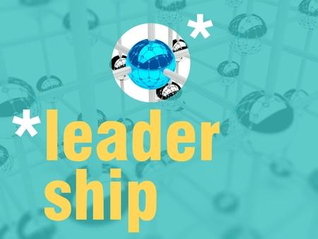 individualist: Leadership concept, unique leader individualist