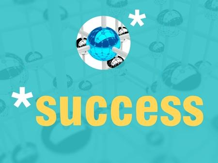 individualist: Success concept, unique leader individualist