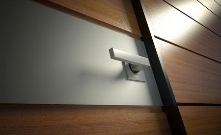 ручка: 3D современный дизайн ручки дверей