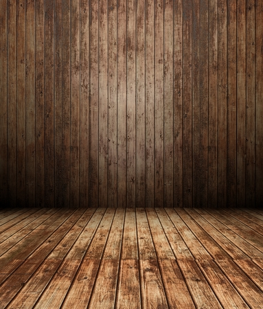 3d wooden interior, panel wall background