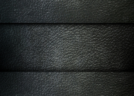 Black leather template, fabric background photo