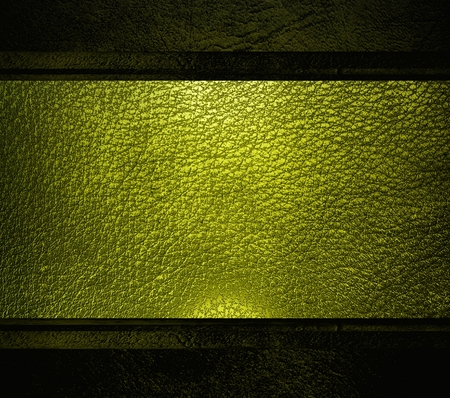 Black leather template, light background  photo