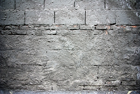 uncoated: Brick blocks with cement, texture Stock Photo