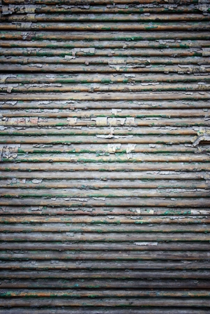 Grunge shutters wood, texture with peeling paint photo