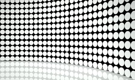 3d abstract design circles