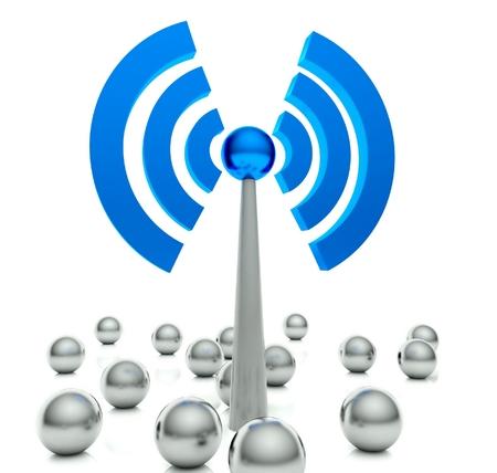 hot spot: Wifi hot spot icon, internet concept