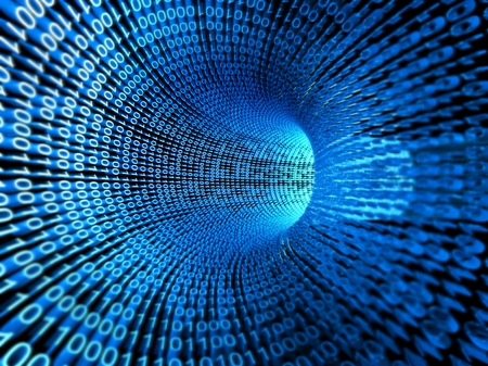Binary stream, flow of information