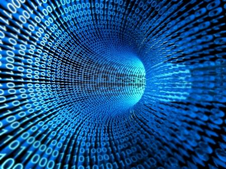 Secuencia binaria, flujo de información