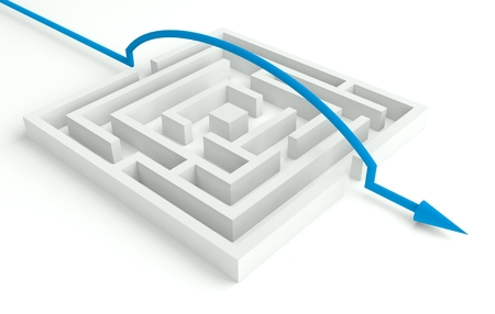 circumvent: 3d Maze Solved, Smart Solution