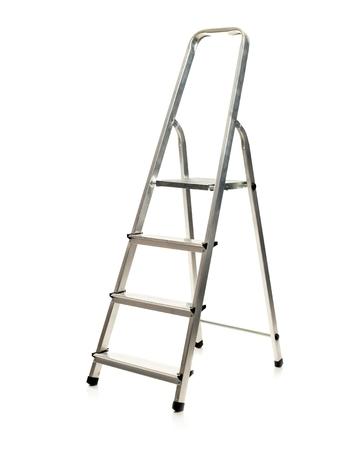 reachability: Ladder Isolated on white background Stock Photo