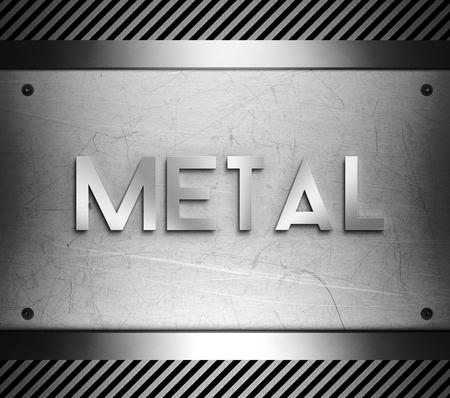piastra acciaio: Concetto di metallo su acciaio piatto sfondo