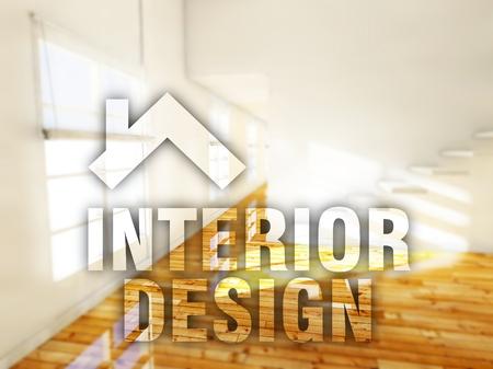 Interior design, creative conceptual illustration illustration