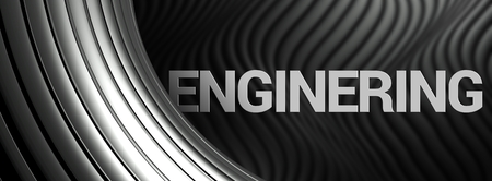 decorration: Enginering abstract background, industry metallic wallpaper Stock Photo