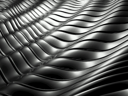 Silver metal abstract background architectural wallpaper
