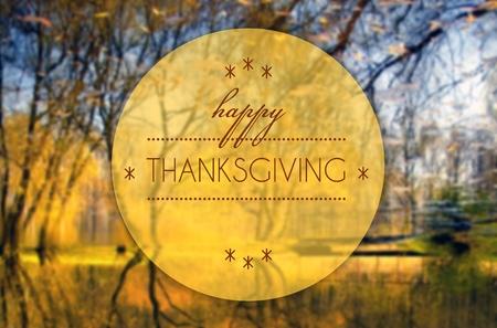 Happy thanksgiving, Autumn creative conceptual illustration illustration