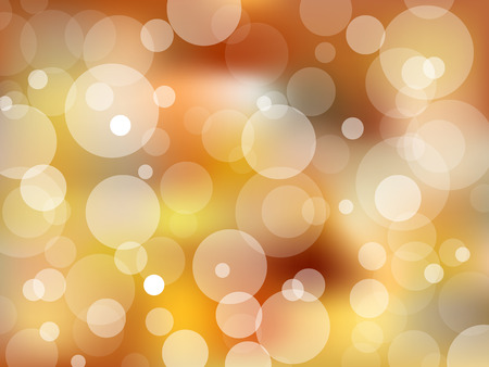 blurred lights: Christmas blurred lights bokeh, vector background Illustration