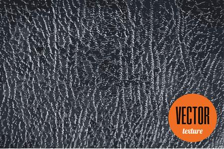 black leather texture: Vector black leather texture, dark background Illustration