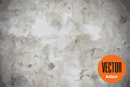 Vector natural stone or concrete texture, grunge background