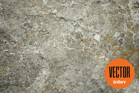 Vector natural stone texture, grunge background Illustration