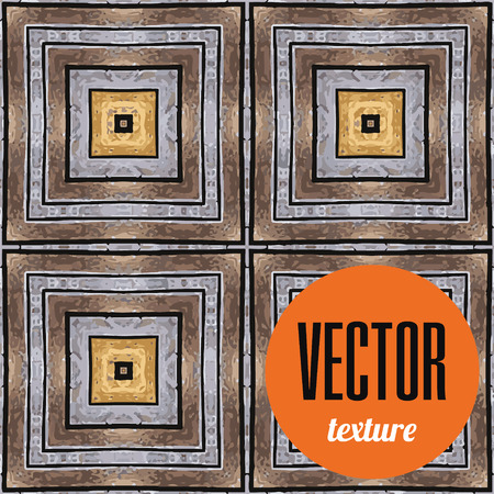 mosaic tiles: Vector mosaic tiles texture, seamless background Stock Photo