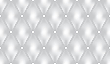 White luxury quilt vector seamless pattern