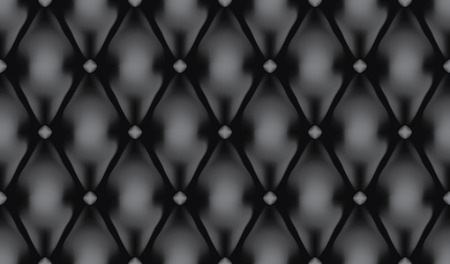 Black luxury quilt vector seamless pattern Vector