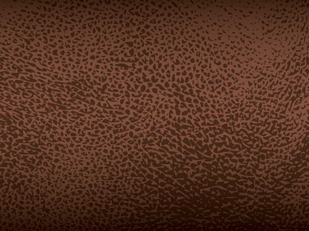 Brown leather vector texture closeup