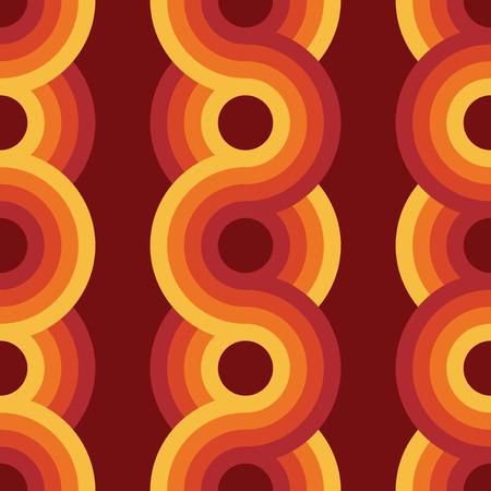 Bezproblemowa geometryczny zabytkowe tapety, ilustracji wektorowych