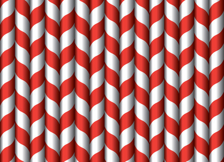 drinking straw: Drinking straw seamless wallpaper, vintage vector illustration Illustration