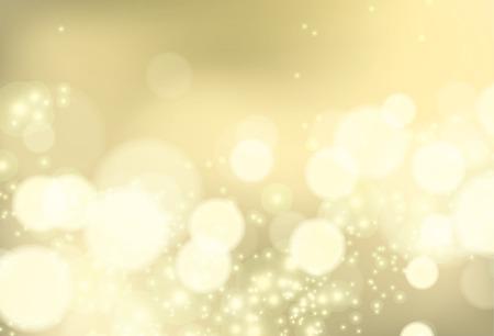 brocade: Bokeh shiny brocade lights, vector background