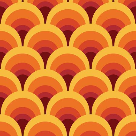 Nahtlose geometrische Vintage Tapete, Vektor-Illustration Standard-Bild - 42062864