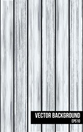 Light grey wooden planks background illustration