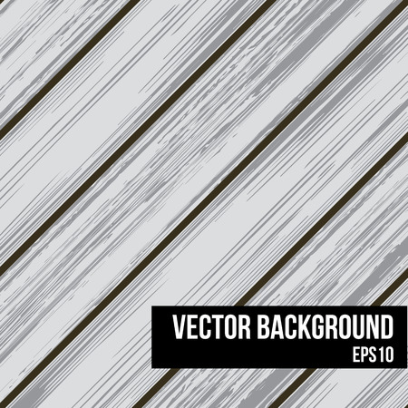 boarded: Light grey wooden planks background illustration