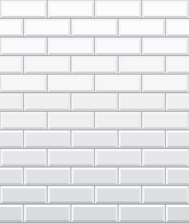 white brick: Seamless white brick wall pattern wallpaper