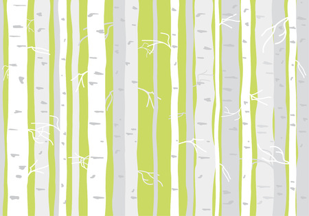 arbres silhouette: Arbre arbres Seamless papier peint motif