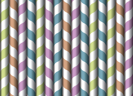 drinking straw: Drinking straw seamless wallpaper vintage vector illustration