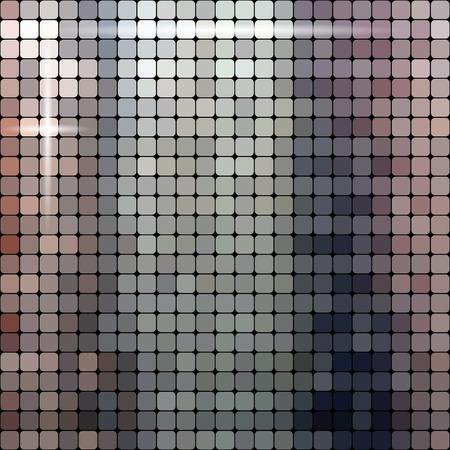 metallic background: Shiny metallic texture pattern vector background