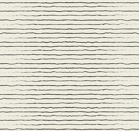 handwrite: Vector ink stripes, seamless pattern Illustration