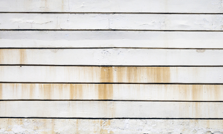 rusting: Rusting white metal panels, texture background Stock Photo