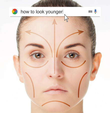 younger: Searching the web for information about how look younger