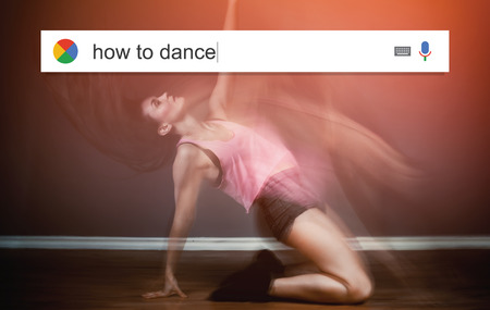telecommute: Searching the web for information about how to dance